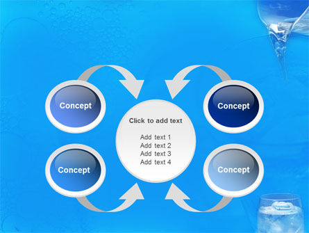 Glass Of Water And Ice PowerPoint Template Slide 6