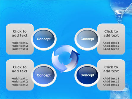 Glass Of Water And Ice PowerPoint Template Slide 9