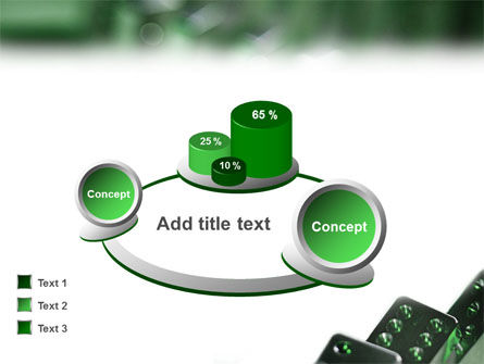 Domino PowerPoint Template Slide 13
