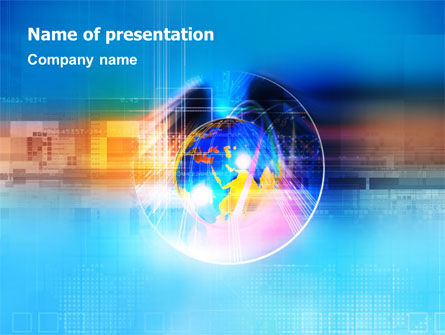 Technology & World PowerPoint Template