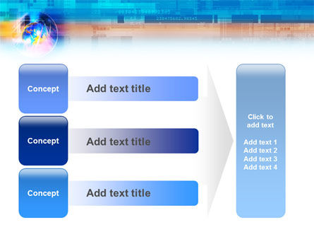 Technology & World PowerPoint Template Slide 12