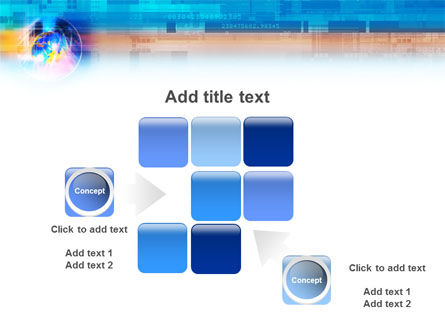 Technology & World PowerPoint Template Slide 16