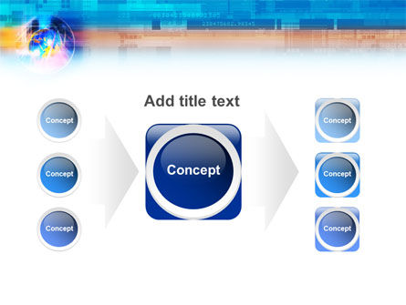 Technology & World PowerPoint Template Slide 17