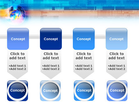 Technology & World PowerPoint Template Slide 18