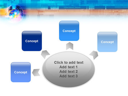 Technology & World PowerPoint Template Slide 7