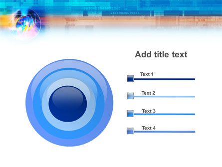 Technology & World PowerPoint Template Slide 9