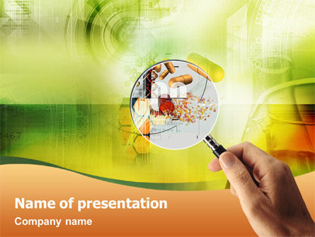 Technology and Science: Scientific Research PowerPoint Template #01525