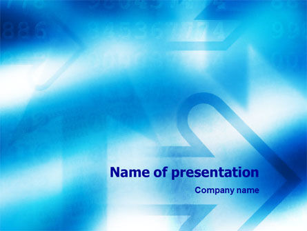 Abstract/Textures: Plantilla de PowerPoint - camino #01526