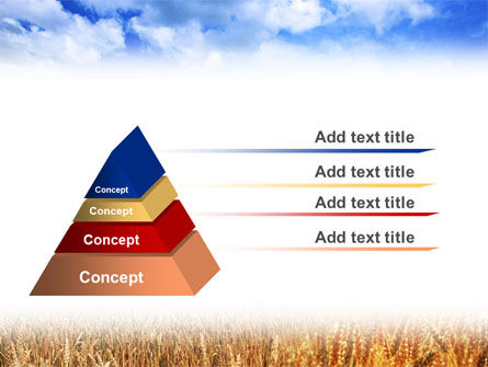 Wheat Field PowerPoint Template Slide 10