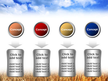 Wheat Field PowerPoint Template Slide 18