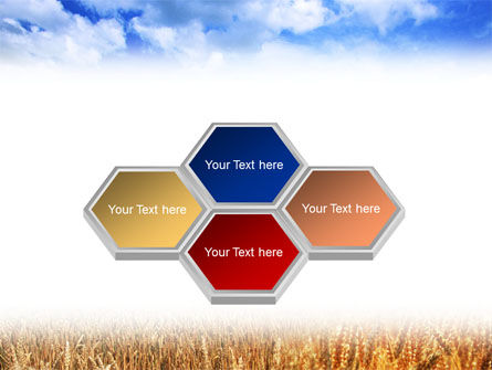 Wheat Field PowerPoint Template Slide 5