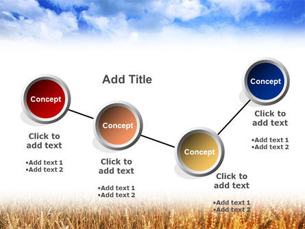 Wheat Field PowerPoint Template Slide 6