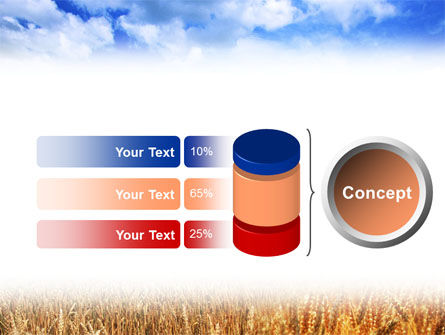 Wheat Field PowerPoint Template Slide 8