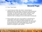 Wheat Field PowerPoint Template#2