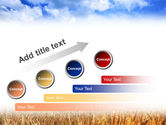 Wheat Field PowerPoint Template#9