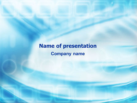 Aqua PowerPoint Template, 01531, Abstract/Textures — PoweredTemplate.com