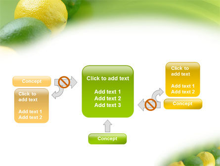 Green And Yellow Lemons In Line PowerPoint Template Slide 13