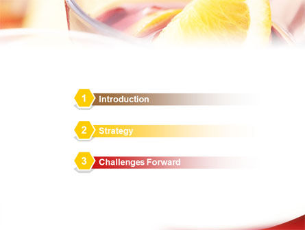 Light Drink PowerPoint Template Slide 3