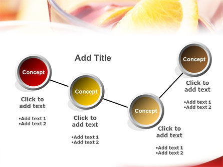 Light Drink PowerPoint Template Slide 6
