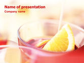 Food & Beverage: Light Drink PowerPoint Template #01533