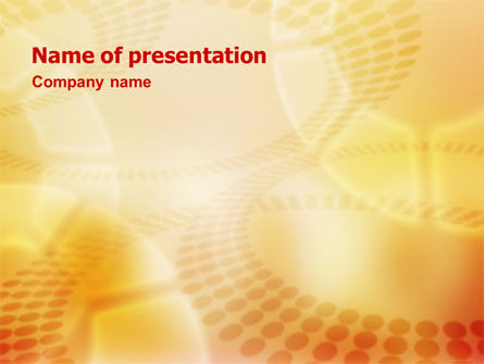 Abstract/Textures: Circles PowerPoint Template #01535