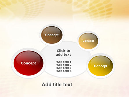 Circles PowerPoint Template Slide 16
