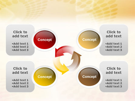 Circles PowerPoint Template Slide 9