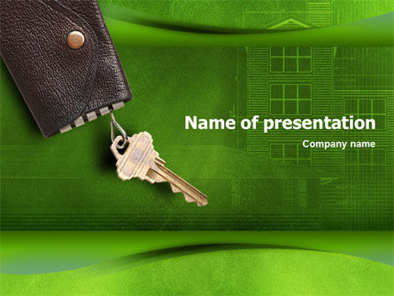 Property PowerPoint Template, 01536, Real Estate — PoweredTemplate.com
