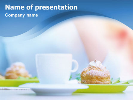 Food & Beverage: Tea Party PowerPoint Template #01537