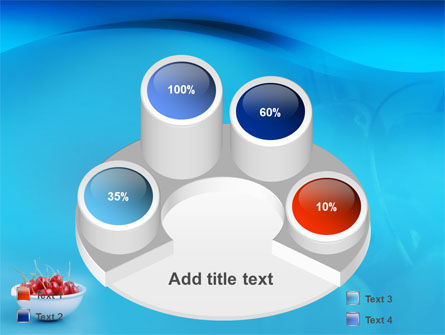 Bowl Full Of Cherries PowerPoint Template Slide 12