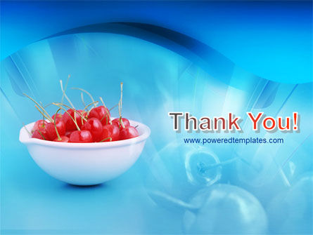Bowl Full Of Cherries PowerPoint Template Slide 20