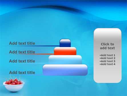 Bowl Full Of Cherries PowerPoint Template Slide 8