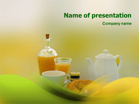 Food & Beverage: Luncheon PowerPoint Template #01540