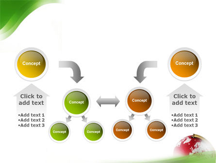 Terrestrial Globe PowerPoint Template Slide 19