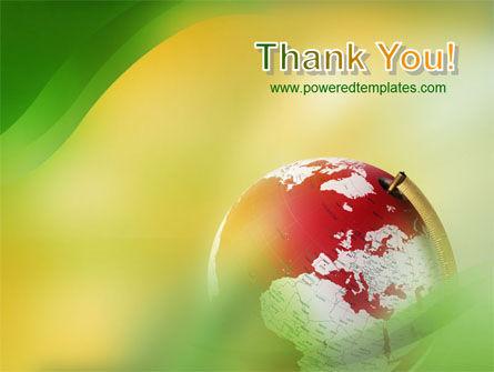 Terrestrial Globe PowerPoint Template Slide 20
