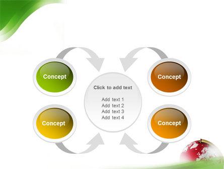 Terrestrial Globe PowerPoint Template Slide 6