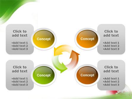 Terrestrial Globe PowerPoint Template Slide 9