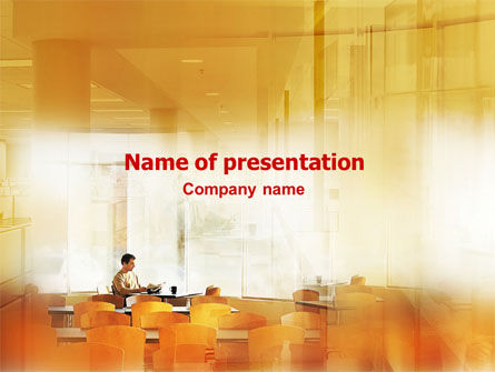 Business: Corporate Life PowerPoint Template #01544