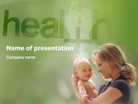 Medical: Health PowerPoint Template #01545