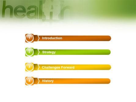 Health PowerPoint Template, Slide 3, 01545, Medical — PoweredTemplate.com