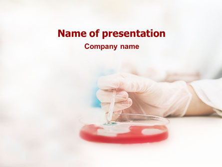 Medical: Medical Lab's Tests PowerPoint Template #01546