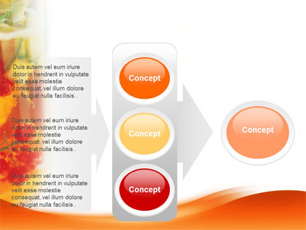 Fruit Cocktail PowerPoint Template Slide 11