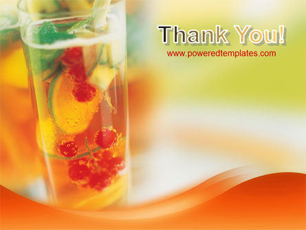 Fruit Cocktail PowerPoint Template Slide 20