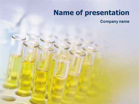 Technology and Science: Tests Research PowerPoint Template #01549