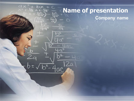 Studying PowerPoint Template, 01550, Education & Training — PoweredTemplate.com