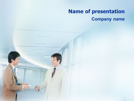 Business: Business Relations PowerPoint Template #01553