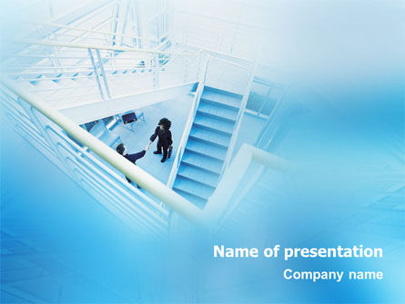 Business: Meeting PowerPoint Template #01555