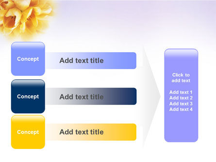 Bouquet PowerPoint Template Slide 12