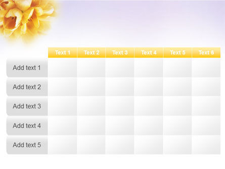 Bouquet PowerPoint Template Slide 15
