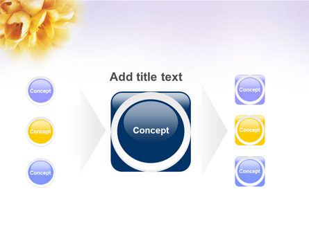 Bouquet PowerPoint Template Slide 17